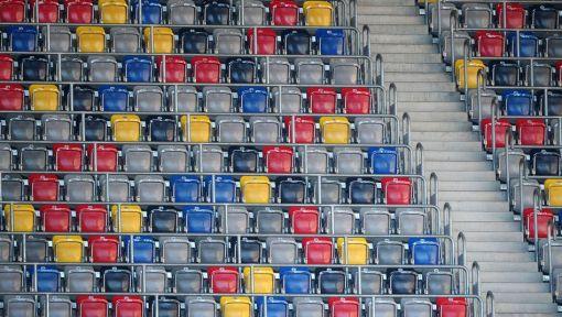 Bundesliga - leere Ränge